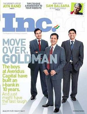 Inc. India - Image: Inc India