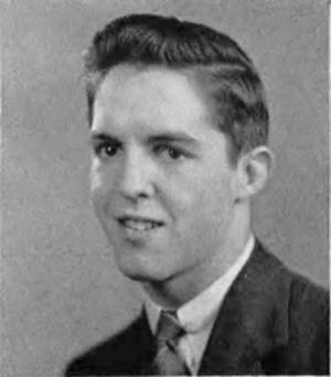 Jack Weisenburger - Weisenburger from 1944 Muskegon Heights H.S. yearbook
