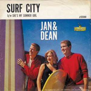 Surf City (song) - Image: Jan and Dean Surf C Ity