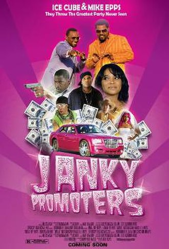 Janky Promoters - Theatrical release poster