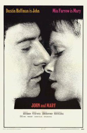 John and Mary (film) - Image: John and mary poster