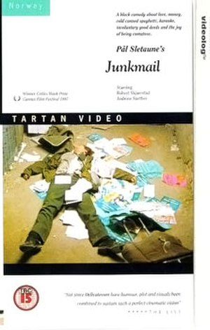 Junk Mail (film) - DVD cover for Junk Mail