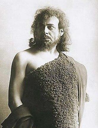 Salome (opera) - Karl Perron as Jochanaan in the Dresden performances, 1907