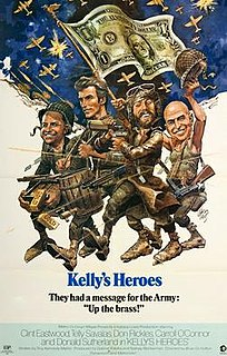 <i>Kellys Heroes</i> 1970 war comedy film directed by Brian G. Hutton