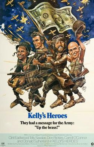 Kelly's Heroes - Theatrical release poster by Jack Davis