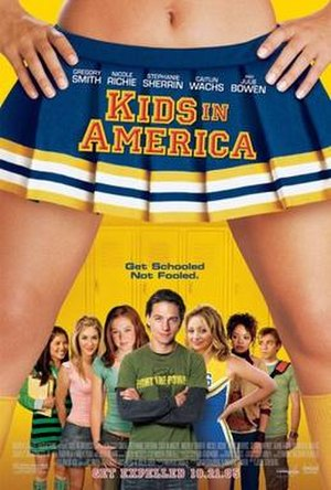 Kids in America (film) - Theatrical release poster