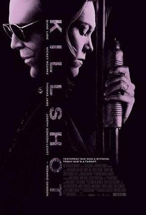 Killshot (film) - Image: Killshotposter