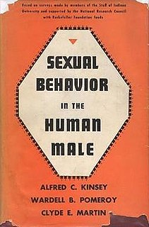 Kinsey Reports two books by Alfred Kinsey and others