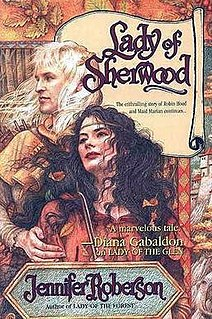 <i>Lady of Sherwood</i> book by Jennifer Roberson