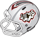 Las Vegas Locomotives (The second best ever) helmet