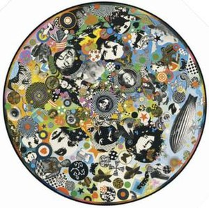 Led Zeppelin III - The volvelle used on the front cover