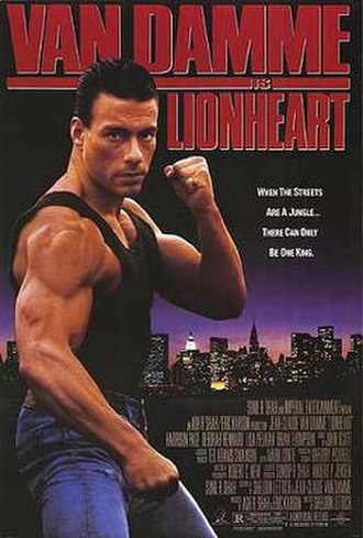 Lionheart (1990 film) - Theatrical release poster