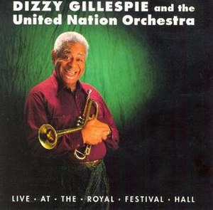Live at the Royal Festival Hall (Dizzy Gillespie album) - Image: Live at the Royal Festival Hall (Dizzy Gillespie album)
