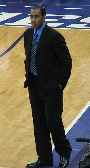 Lorenzo Romar- UW basketball coach