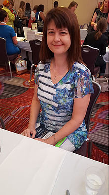 Lori Wilde at the Romance Writers of America Conference, July 2015, New York, NY