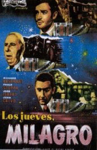 Miracles of Thursday - Spanish film poster