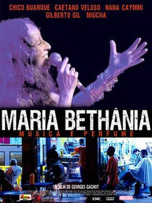 Maria Bethânia: Music Is Perfume - Promotional publicity poster