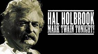 Mark Twain Tonight! - Image: Mark Twain Tonight