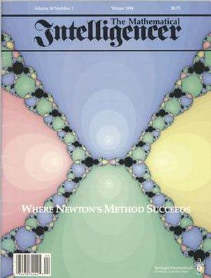 The Mathematical Intelligencer - Cover of Winter 1994 issue