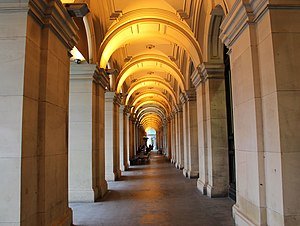 General Post Office, Melbourne - The arcade along Elizabeth Street