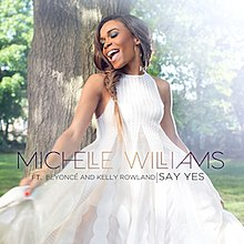 Michelle Williams Say Yes Single Cover Jpg
