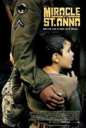 Miracle at St. Anna - Theatrical release poster