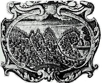 Moscopole - The coat of arms of Moscopole.