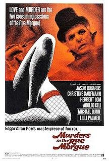<i>Murders in the Rue Morgue</i> (1971 film) 1971 film by Gordon Hessler