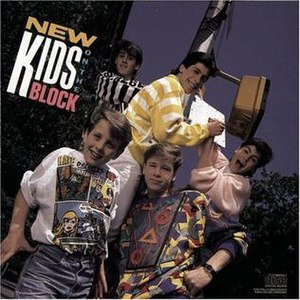 New Kids on the Block (album) - Image: NKOTB debut album cover