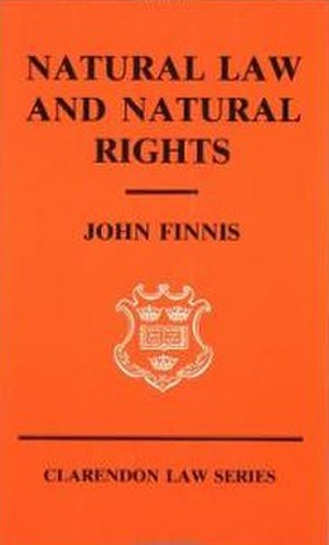 Natural Law and Natural Rights - Cover of the first edition