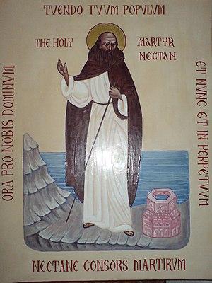 Nectan of Hartland - The Holy Martyr Nectan