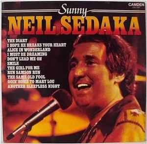 Sunny (Neil Sedaka album) - Image: Neil Sedaka Sunny 1979