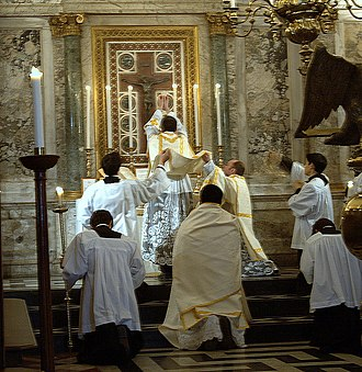 Oxford University Newman Society - Newman Mass in the 1962 extraordinary form of the Roman Rite, 2007
