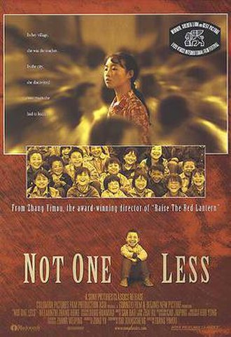 Not One Less - DVD release cover