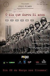 <i>O Dia que Durou 21 Anos</i> 2012 film directed by Camilo Tavares