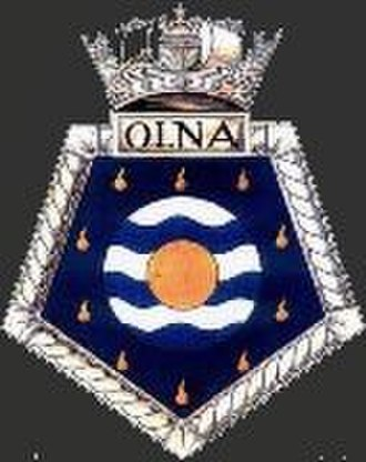 RFA Olna (A123) - Image: Olna Crest