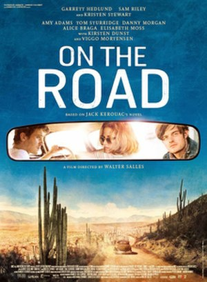 On the Road (film) - Theatrical release poster