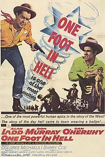 <i>One Foot in Hell</i> (film) 1960 Western directed by James B. Clark