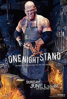 One Night Stand (2008) 2008 World Wrestling Entertainment pay-per-view event