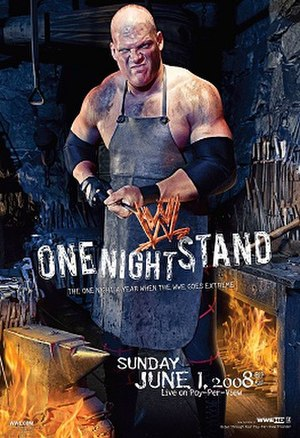 One Night Stand (2008) - Promotional poster featuring Kane