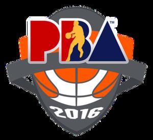 2015–16 PBA season - Image: PBA 2015 16 logo