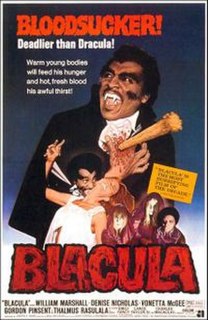 Blacula - Theatrical release poster