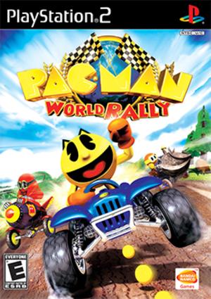 Pac-Man World Rally - Image: Pac Man World Rally Coverart