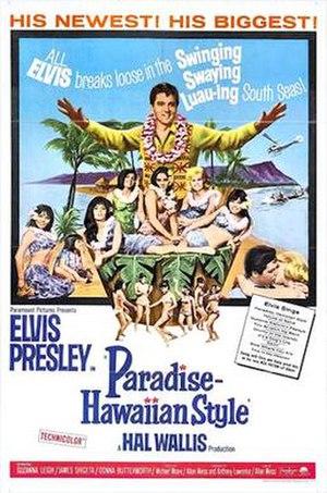 Paradise, Hawaiian Style - Image: Paradise Hawaiian Style 1966 poster