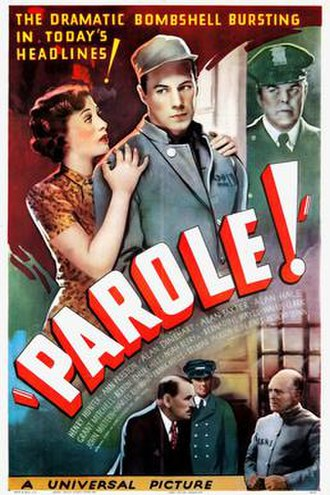 Parole! - Theatrical release poster