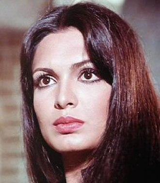 Parveen Babi - Parveen Babi in 1977