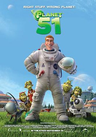 Planet 51 - Theatrical Canadian release poster
