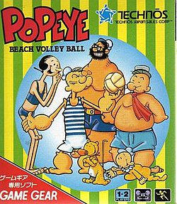 Popeye: Beach Volleyball