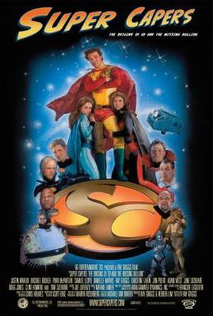 Super Capers - Image: Poster of the movie Super Capers