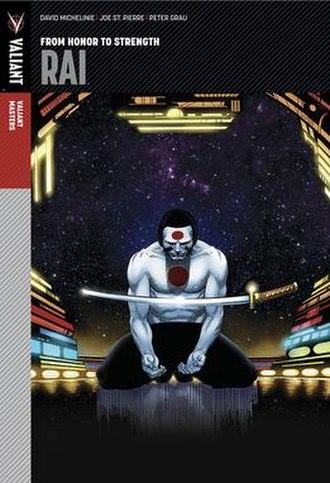 Rai (comics) - Image: Rai masters cover